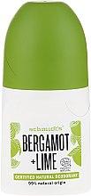 Kup Dezodorant w kulce - Schmidt's Bergamot + Lime Deo Roll-On