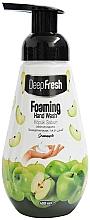 Kup Pianka do mycia rąk Zielone jabłko - Aksan Deep Fresh Foaming Hand Wash Green Apple