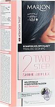Kup Szampon koloryzujący do włosów bez amoniaku - Marion Two Step Shine Reflex