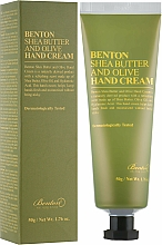 Kup Krem do rąk z masłem shea i oliwkami - Benton Shea Butter and Olive