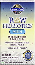 Kup Probiotyk dla mężczyzn - Garden of Life Raw Probiotics Men