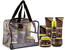 Kup Zestaw - Xpel Marketing Ltd Argan Oil (sh/250ml+cond/250ml+oil/50ml+mask/220ml+h/spr/150ml+b/but/250ml)