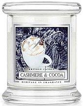 Kup Świeca zapachaowa w słoiku - Kringle Candle Cashmere & Cocoa