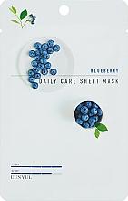 Kup Maska na tkaninie do twarzy przeciwzmarszczkowa jagoda - Eunyul Daily Care Mask Sheet Blueberry