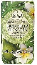 Kup Roślinne mydło w kostce Figa i frangipani - Nesti Dante