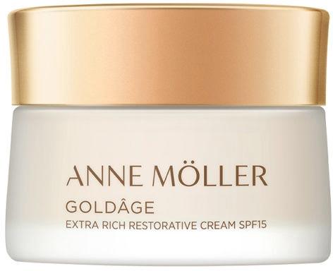 Ekstrabogaty krem regenerujący do twarzy SPF 15 - Anne Moller Goldage Extra Rich Restorative Cream SPF15 — фото N1