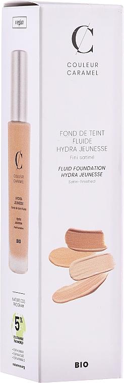 Naturalny podkład do skóry dojrzałej - Couleur Caramel Fond de Teint Fluide Hydra Jeunesse
