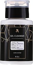 Kup PRZECENA! Odtłuszczacz do paznokci - F.O.X Gel Cleanser Care System *