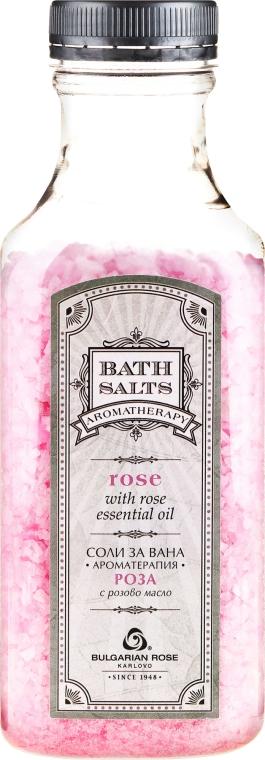 Różana sól do kąpieli - Bulgarian Rose Bath Salts Rose — фото N1