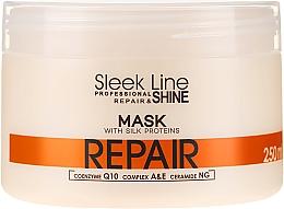 Kup Regenerująca maska z jedwabiem do włosów - Stapiz Sleek Line Repair