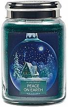 Kup Świeca zapachowa w słoiku - Village Candle Peace Of Earth