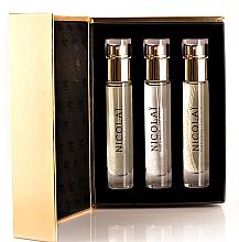 Kup Nicolai Parfumeur Createur Patchouli Intense - Zestaw (edp 3 x 15 ml)