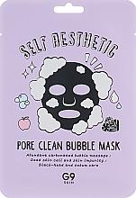 Kup Oczyszczająca maseczka bąbelkująca w płachcie - G9Skin Self Aesthetic Poreclean Bubble Mask