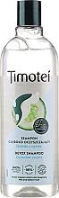 Kup Szampon z odżywką 2 w 1 do włosów normalnych lub przetłuszczających się z ekstraktem z ogórka - Timotei Detox Fresh Shampoo