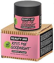 Kup Maska do ust na noc - Beauty Jar Kiss Me Goodnight Overnight Lip Mask