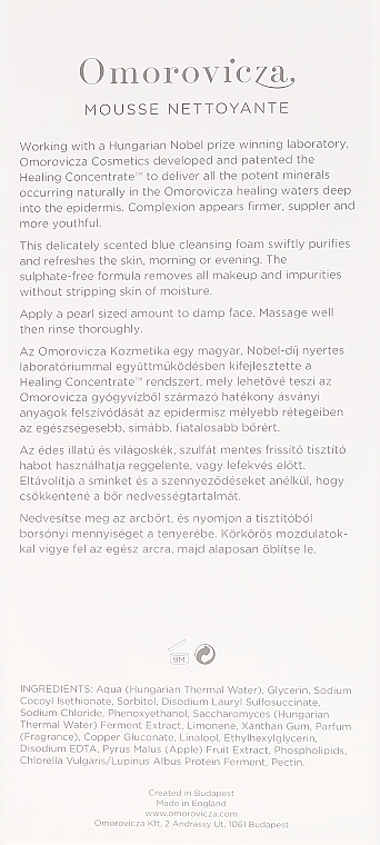 Oczyszczająca pianka do twarzy - Omorovicza Cleansing Foam — фото N3