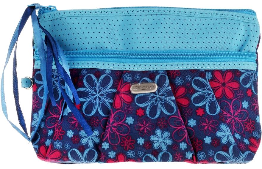 Kosmetyczka Ribbons 93951, błękitna - Top Choice — фото N1