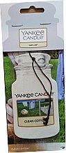 Kup Zapach do samochodu - Yankee Candle Car Jar Clean Cotton
