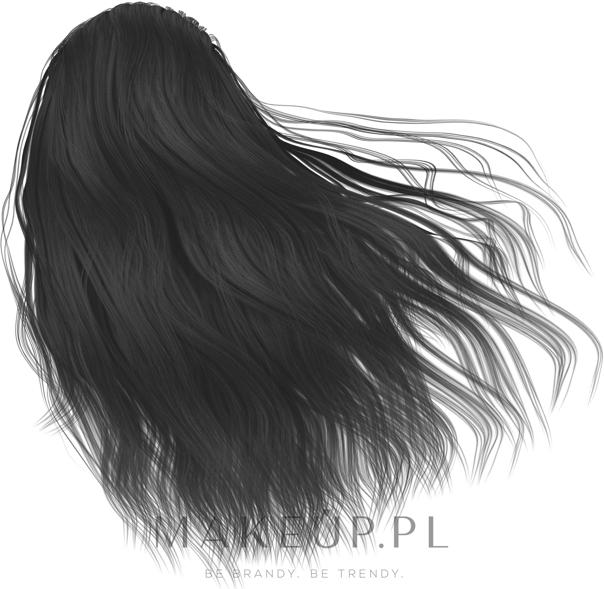Farba do włosów w kremie - Cutrin Aurora Color Reflection — фото 1.0 - Black