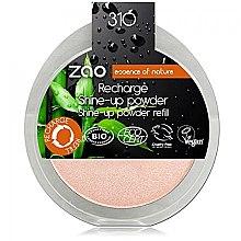 Kup Puder rozświetlający do twarzy - Zao Illuminating Powder refill (wymienny wkład)