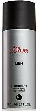 Kup S.Oliver Men - Dezodorant w sprayu
