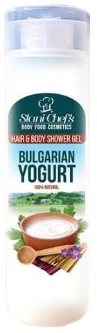 Naturalny żel pod prysznic do włosów i ciała Bułgarski jogurt - Stani Chef's Bulgarian Yogurt Hair & Body Shower Gel — фото N1