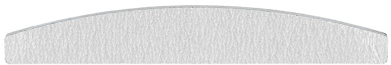 Pilnik do paznokci, 150/150, szary - Tools For Beauty Nail File — фото N1