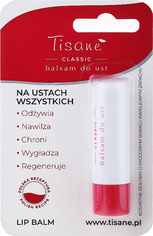 Balsam-pomadka do ust - Farmapol Tisane Classic Lip Balm