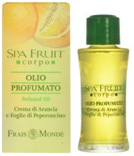 Kup Frais Monde Spa Fruit Orange And Chilli Leaves Perfumed Oil - Olejek perfumowany Pomarańcza i liście chili