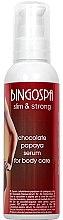Kup Czekoladowo-papajowe serum do pielęgnacji ciała - BingoSpa Serum Chocolate-Papaya