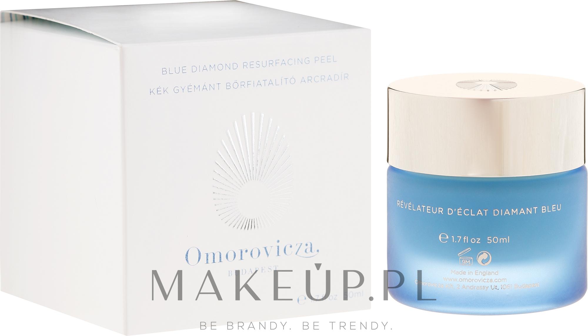Peeling do twarzy - Omorovicza Blue Diamond Resurfacing Peel — фото 50 ml