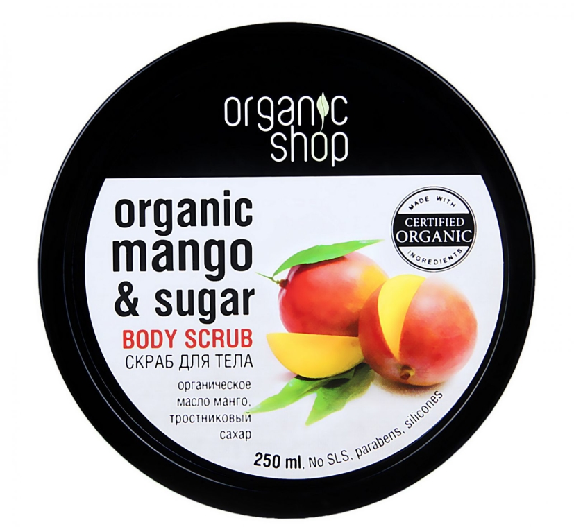 Scrub do ciała Kenijskie mango - Organic Shop Body Scrub Organic Mango & Sugar