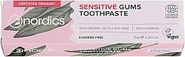 Kup Pasta do wrażliwych zębów - Nordics Sensitive Gums Toothpaste