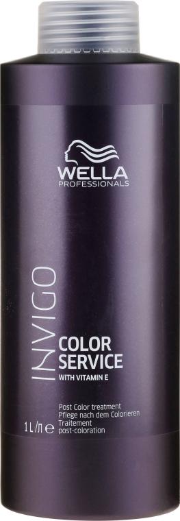Intensywna kuracja stabilizująca włosy po koloryzacji - Wella Invigo Color Service Post Treatment — фото N1