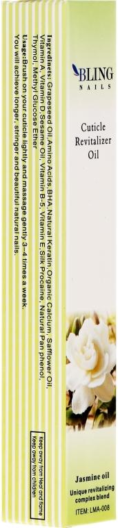 Olejek do skórek Jaśmin - Bling Nails Cuticle Revitalizer Oil Jasmine Oil