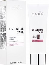 Krem do skóry wrażliwej - Babor Essential Care Sensitive Cream — фото N1