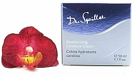 Kup Nawilżający krem z karotenem do twarzy - Dr. Spiller Moisturizing Carotene Cream