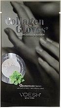 Kup Kolagenowe rękawiczki nawilżające Mięta pieprzowa - Voesh New York Deluxe Spa Manicure Phyto Collagen Gloves