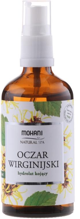 Kojący hydrolat z oczaru wirginijskiego - Mohani Natural Spa — фото N1