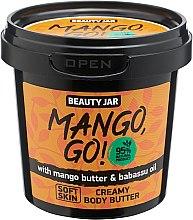 Kup Kremowe masło do ciała z masło mango i olejem babasu - Beauty Jar Shimmering Creamy Body Butter