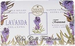 Kup Odprężające mydło w kostce Lawenda - Nesti Dante Dei Colli Fiorentini