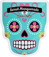 Kup Maseczka na tkaninie do twarzy - Dr Mola Sweet Masquarade Green Fruits Mask