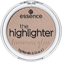 Kup Pudrowy rozświetlacz do twarzy - Essence The Highlighter Luminous Glow