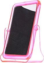 Kup Lusterko kosmetyczne kwadratowe 5299, różowe - Top Choice