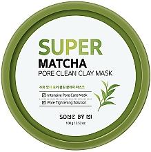 Kup Oczyszczająca maska z glinką do twarzy - Some By Mi Super Matcha Pore Clean Clay Mask