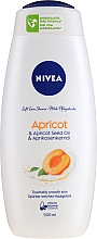 Kremowy żel pod prysznic Apricot - Nivea Bath Care Cream Shower Apricot And Milk — фото N1