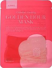 Kup Ujędrniająca maseczka w płachcie do twarzy - Elroel Golden Hour Mask Camellia Firming