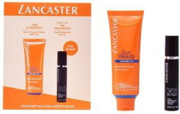 Kup Zestaw - Lancaster Sun Beauty Kit (ser/10ml + cr/50ml)