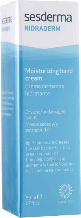 Krem do rąk do skóry suchej i starzejącej się - SesDerma Laboratories Hidraderm Hand Cream — фото N2