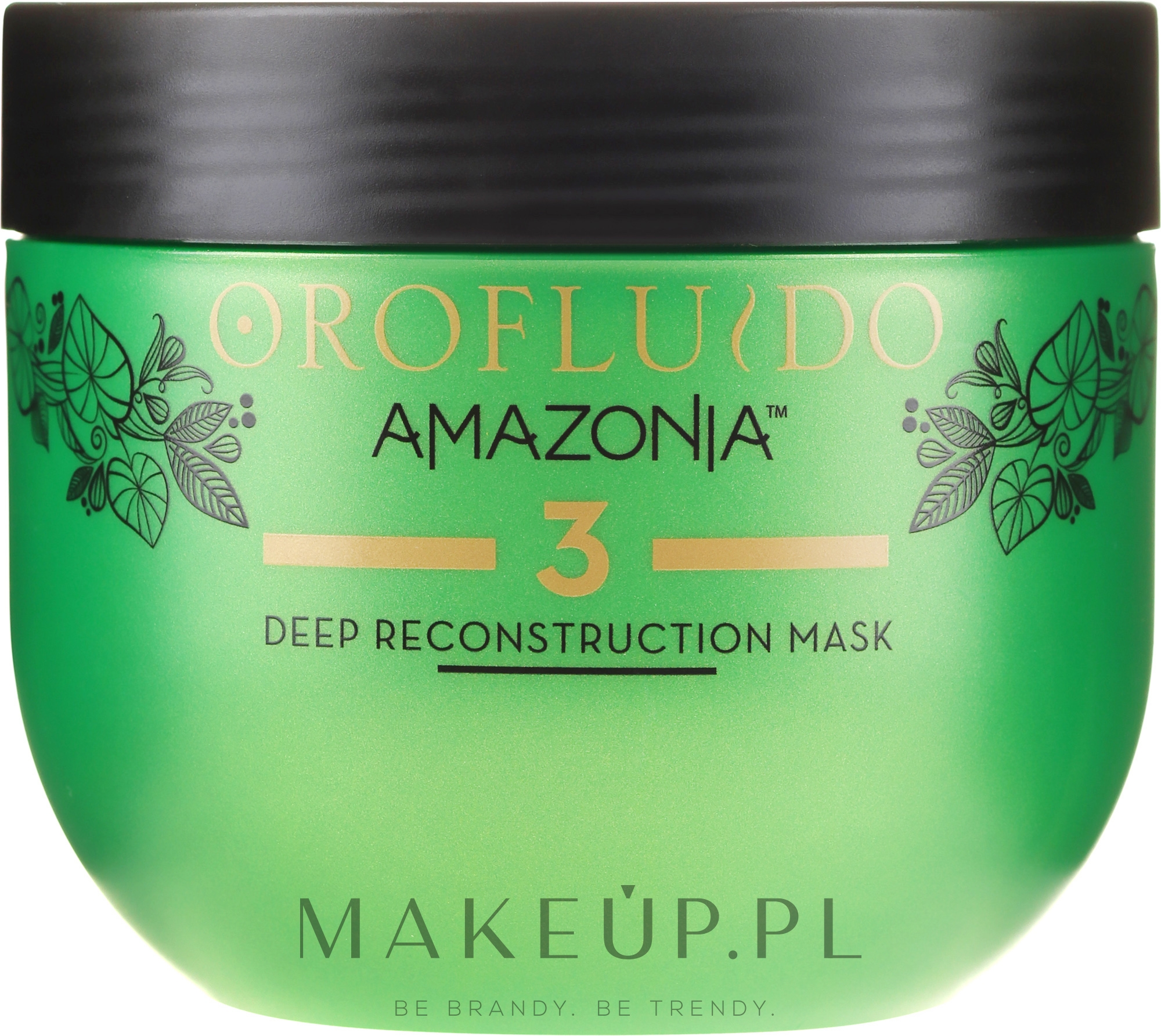 Regenerująca maska do włosów - Orofluido Amazonia Mask — фото 500 ml